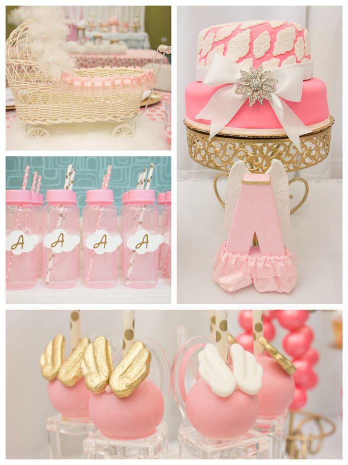 Thank Heaven For Little Girls Baby Shower Via Karau0027s Party Ideas  KarasPartyIdeas.com Printables,
