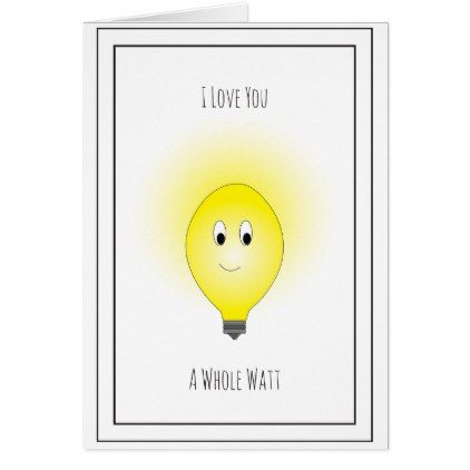 Cheesy Valentine's Day Card - Watt - valentines day gifts love couple diy personalize for her for him girlfriend boyfriend