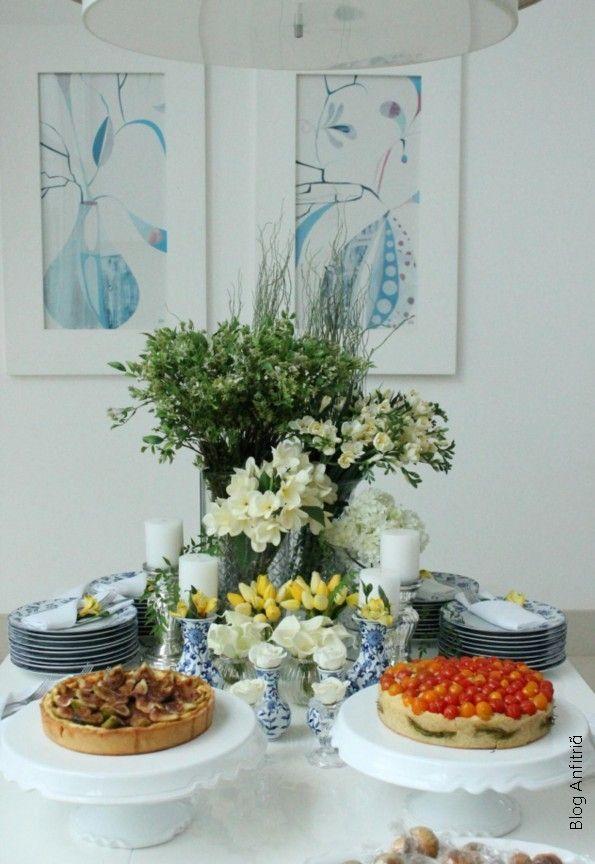 arrumação para um happy hour-11 como receber em casa decoração mesas: