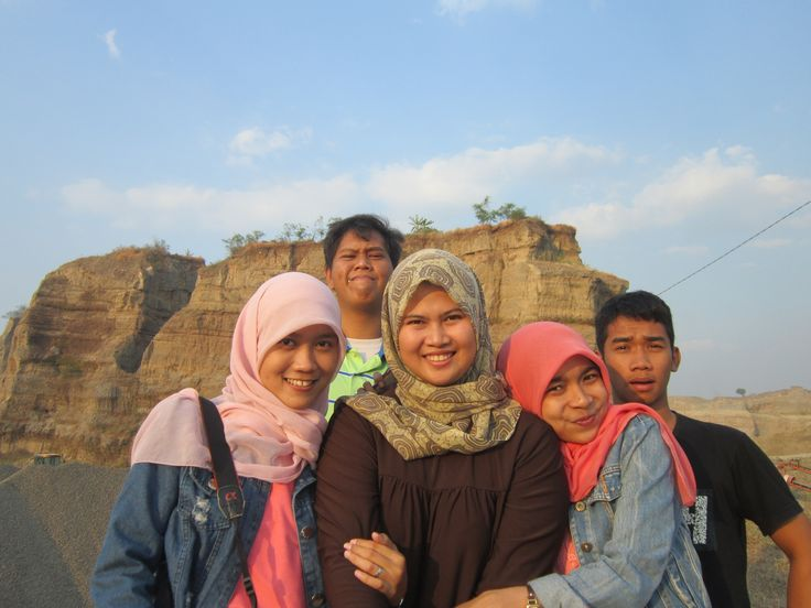 #groufie #selfie from Brown #Canyon, Semarang, Indonesia