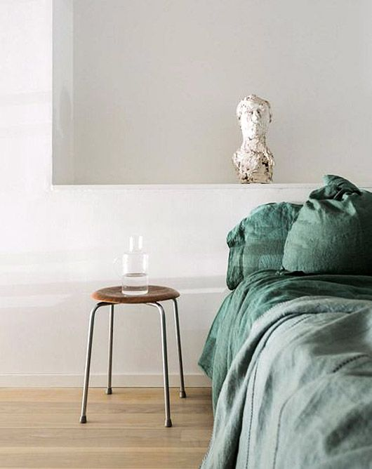 Bedding And Linens Part - 49: Green Bed Linens. / Sfgirlbybay