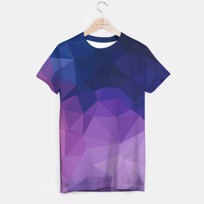 Men designers t-shirt Luxury triangles