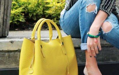 Vestir de amarillo: Streetstyle con prendas amarillas - Te enseñamos cómo se lleva el color amarillo en el street style para que puedas ver el efecto en ti misma