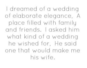 Wedding Quote By Angelia