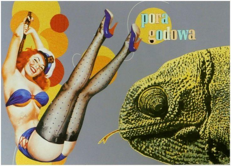 Pora godowa, [collage - 29 x 21 cm], 2011