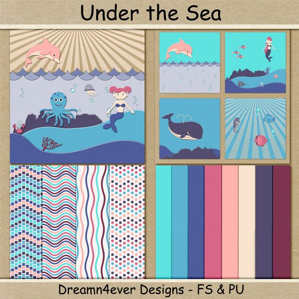 FREE Under the Sea by Dreamn4ever Designs: Blog Trains