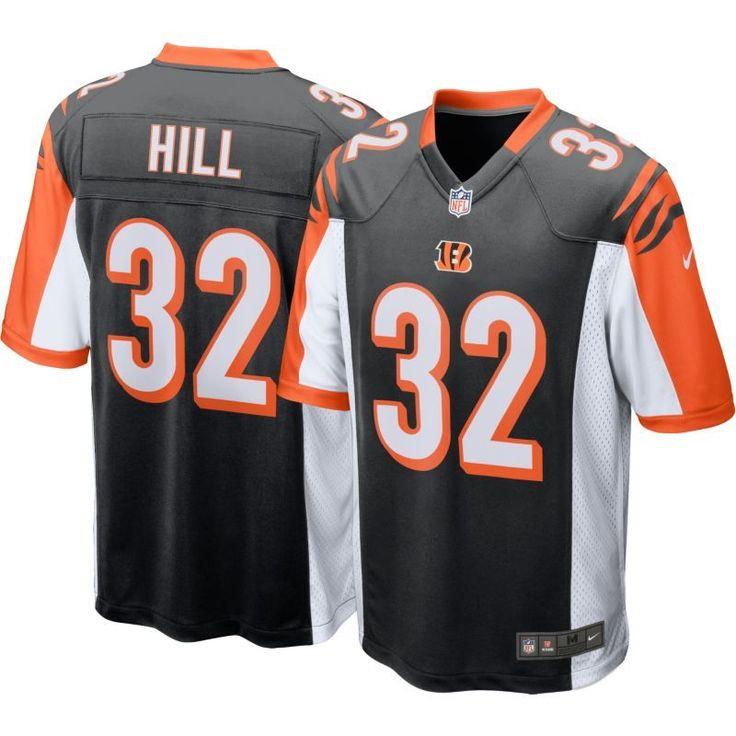 Nike Men's Home Game Jersey Cincinnati Jeremy Hill #32, Size: Medium, Team