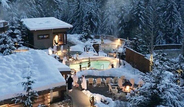 9 Incredible Winter Spa Resorts In BC For Under 60
