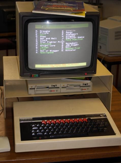 BBC Model B - 32 KB RAM - school IT