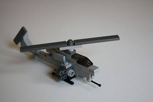 Lego Mini Cobra by Jason D.., via Flickr