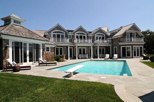 huge house.