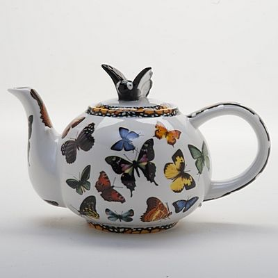 I have the cups and saucers to this. I need to find the teapot!