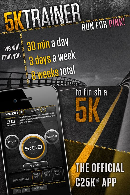 Go from couch-sitting to 5K-running in 8 weeks with C25K from our newest partner, Zen Labs. Available on both iPhone and Android, C25K is a training program designed for people new to running and t...