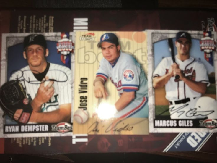 Dempster, Vidro and Giles Autographs.