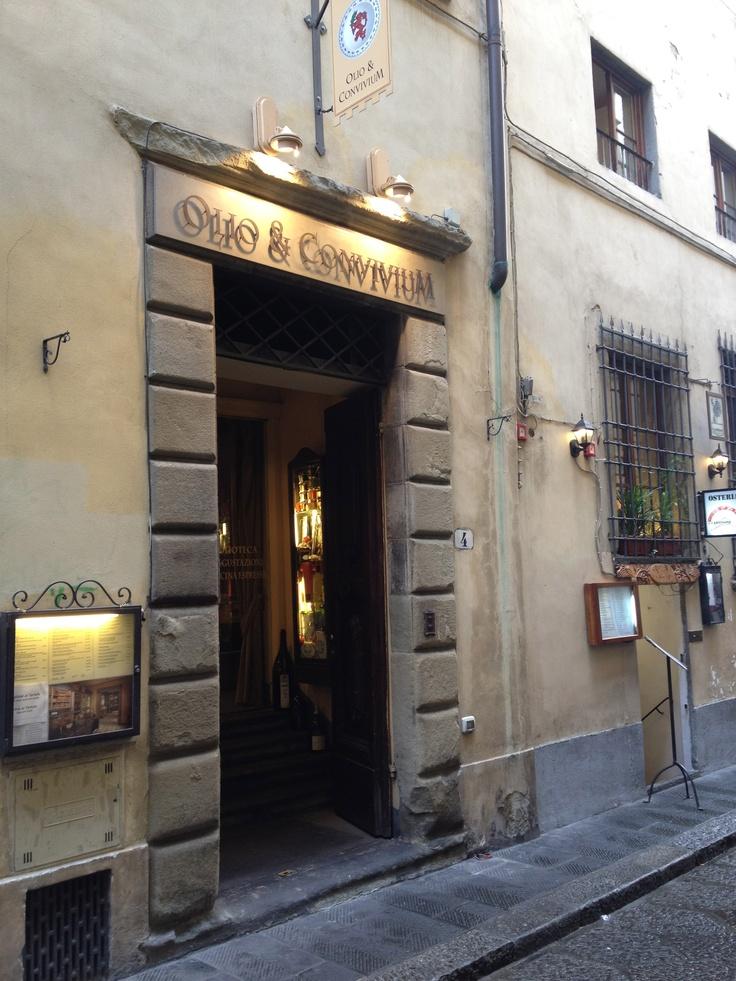 Olio & Convivium - Via Santo Spirito, Firenze -http://www.conviviumfirenze.it