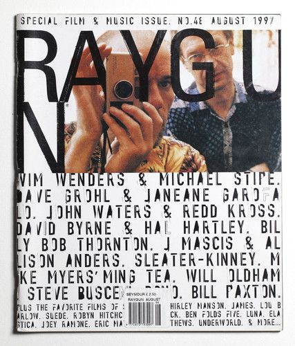 Ray Gun Magazine 48 - Wim Wenders Cover - August 1997 | eBay