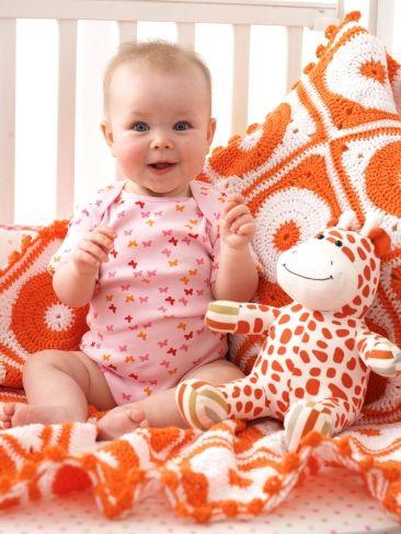 Polka Dot Blanket - Patterns | Yarnspirations