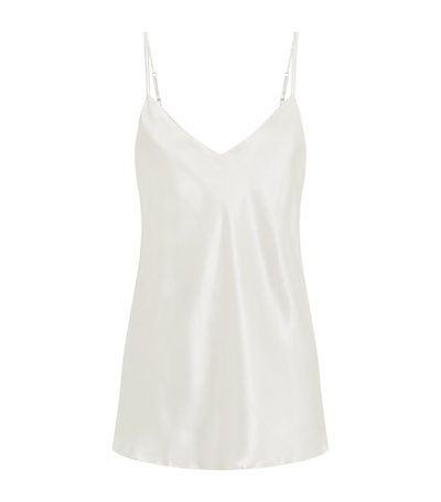 Harrods of London Silk Camisole in Ivory available to buy now. Shop designer nightwear online & earn reward points. Luxury shopping with Free UK Returns.