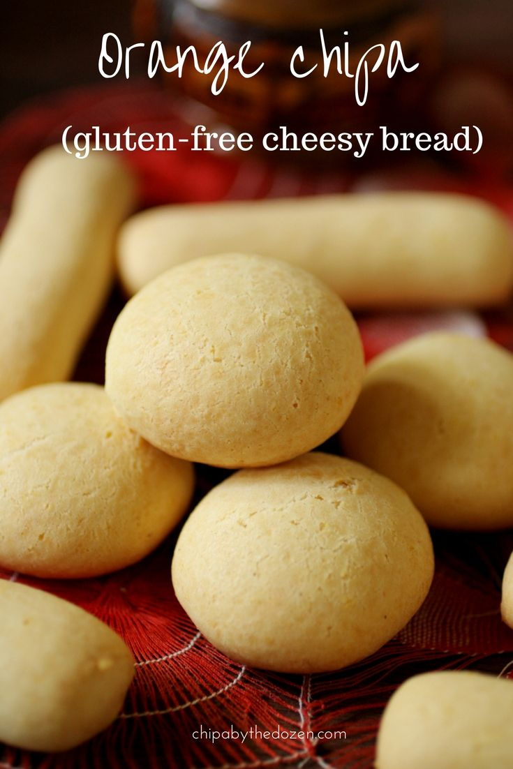 Orange Chipa Gluten Free Cheesy Bread Recipe Bread Cheesy Bread Gluten Free
