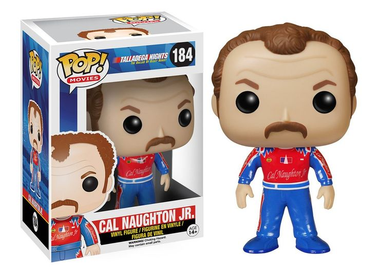 Pop! Movies: Talladega Nights - Cal Naughton Jr.