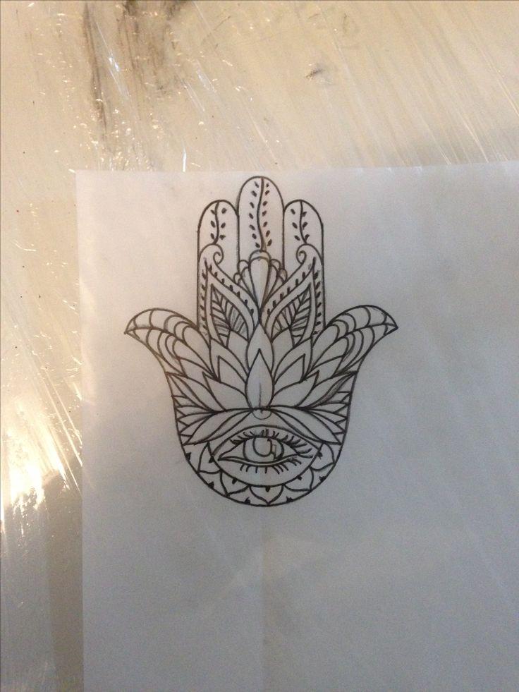 hand fatima sketch #tattoo idea #indian tattoo #mandi tattoo