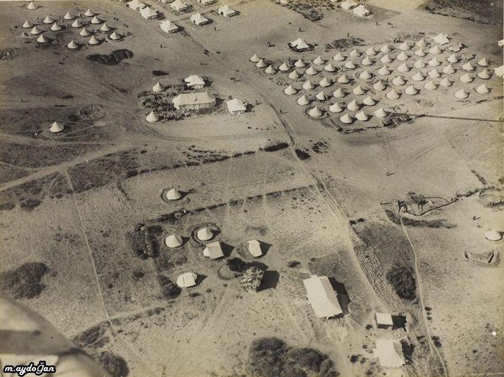 çanakkalede bir sahra hastanesi