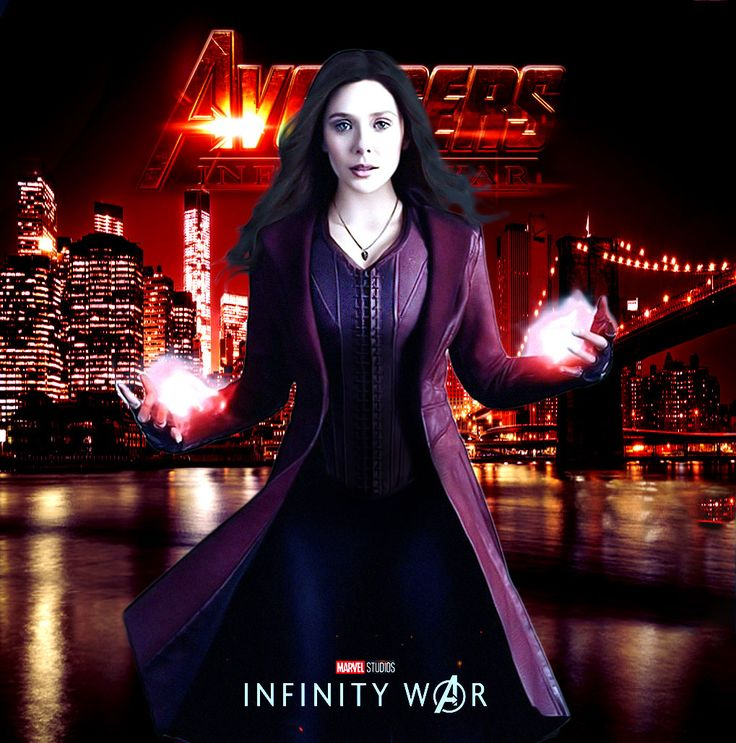 Elizabeth Olsen character poster, Avengers: Infinity War