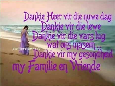 Dankie Heer...♡
