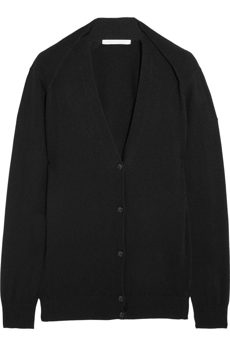 Alexander Wang|Silk and cashmere-blend cardigan