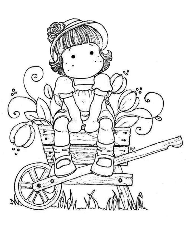 magnolia tree coloring pages - photo#35