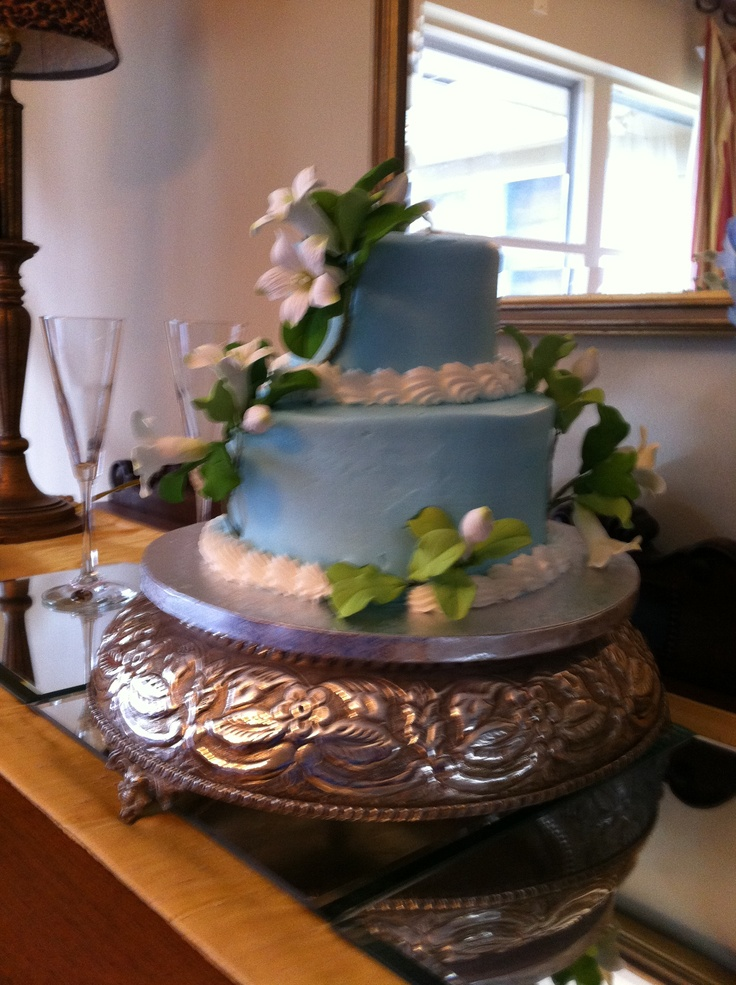 Wedding cake by Publix...custom  made to order and delicious