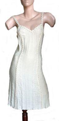 Figurbetontes #Sommerkleid, 100% #Pima #Baumwolle, knielang
