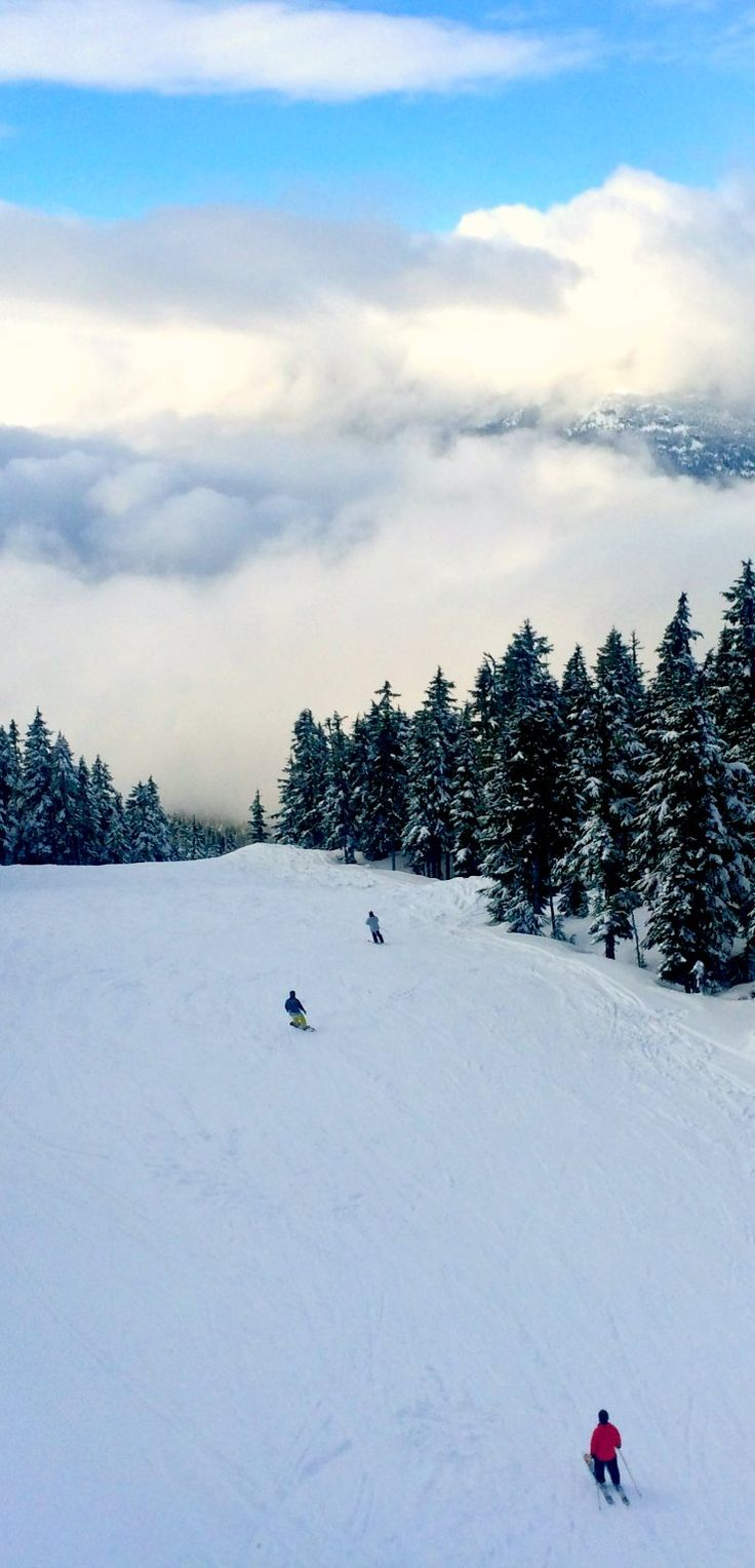 One of the best snow resorts in the world, #Whistler Blackcomb via @rtwgirl
