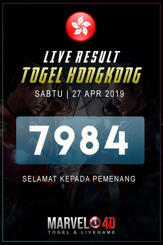 Live Result Togel Hongkong Sabtu, 27 April 2019 #hasilhk #togelhk