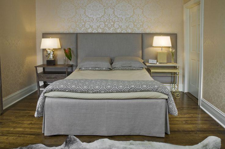 Дизайн изголовья кровати фото