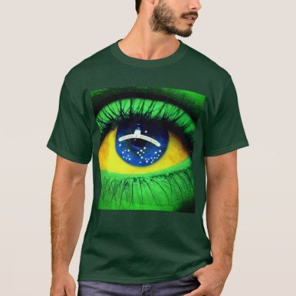 Brazil T-Shirt  $28.95  by LojadasArtes  - cyo customize personalize unique diy idea