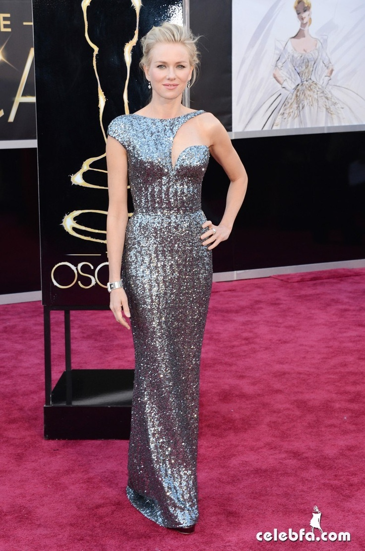 Naomi Watts Oscars 2013 Red Carpet