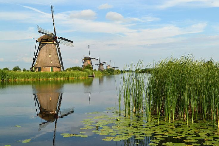The windmills of Kinderdijk are one of the best known Dutch tourist sites. They have been a UNESCO World Heritage Site since 1997. Photo by Tarod. The largest photography competition in the world aims to document the monuments and cultural heritage sites of today for others to enjoy tomorrow. It's being held right now, and you can contribute. Find out more: https://blog.wikimedia.org/2016/09/07/wiki-loves-monuments #wlm2016 #wikilovesmonuments