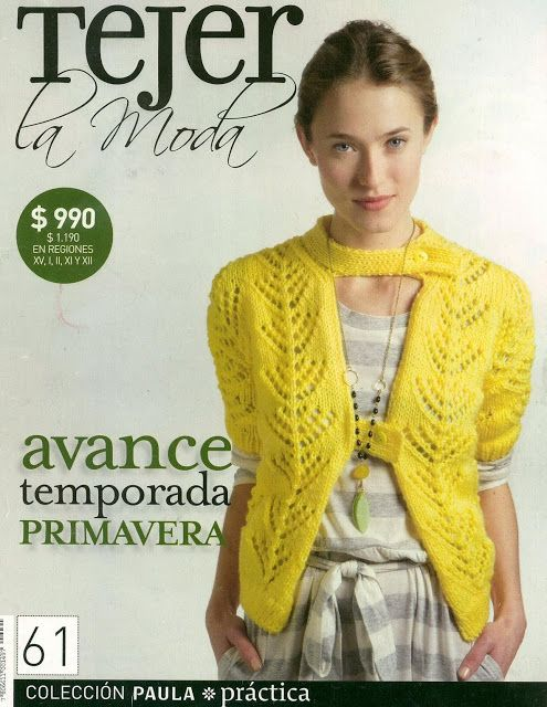 Moda Knitting Books : Best mags tejer la moda images on pinterest