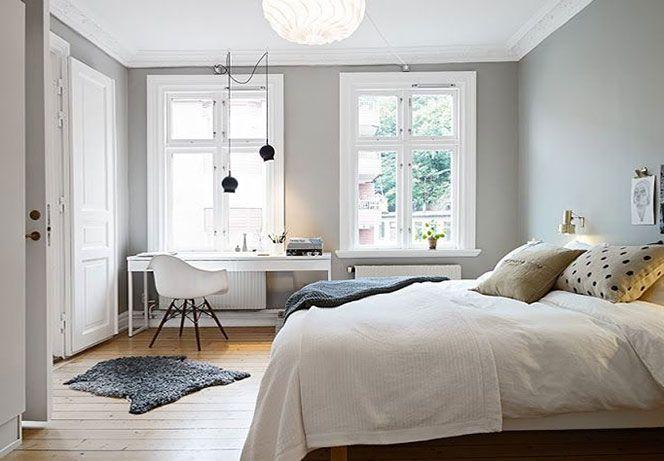 Il  grigio è molto utilizzato e si accosta facilmente  con l'arredo moderno, donando all'ambiente stile ed eleganza. Viene usato spesso per la sala bagno o per il soggiorno, accostato a colori vivi come il bianco, il verde, il giallo e l'arancio.
