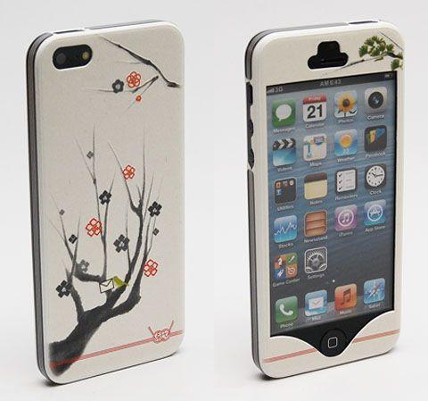 綺麗な柄してるだろ。ウソみたいだろ。紙なんだぜ、これで。こちら、京都は「鈴木松風堂」より発売されたiPhone 5カバー、「結 -結び-」。...