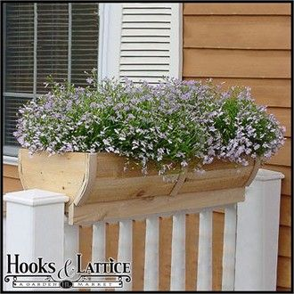 I want porch rail planters filled with catnip, rosemary, marigolds, etc to keep mosquitoes away while enjoying our outdoor living space...