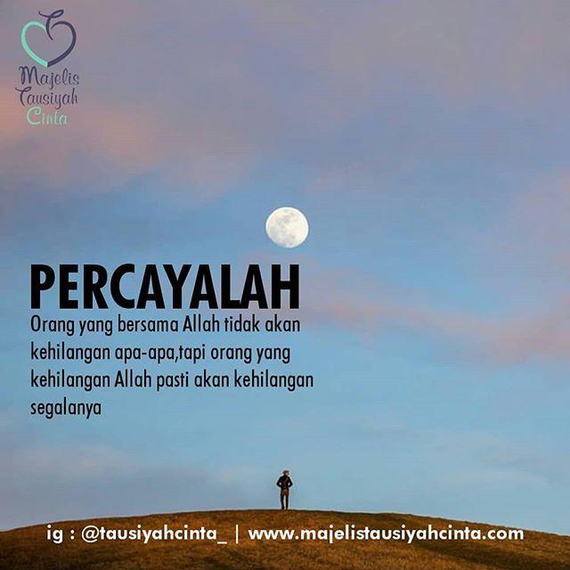 Percayalah Follow Hijrahcinta Follow Hijrahcinta