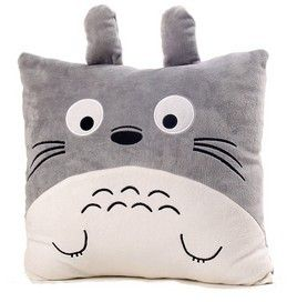 Totoro Soft Pillow //Price: $18.99 & FREE Shipping //     #totorostuff