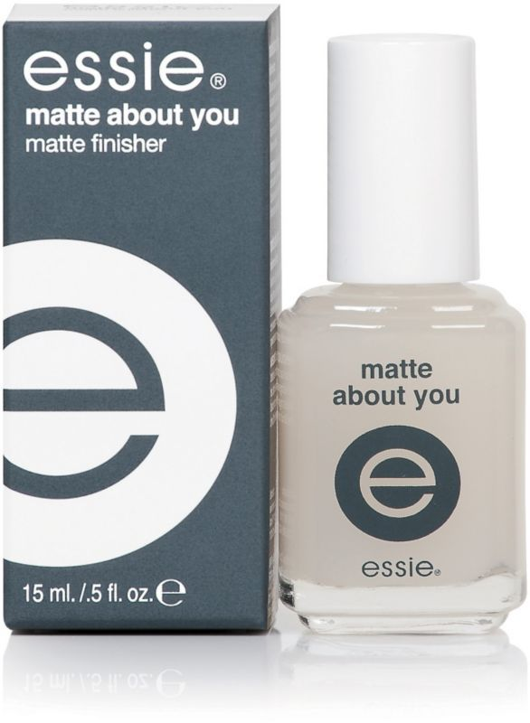 Matte top coat |  Instantly transform nail color from high gloss to matte in seconds #essie