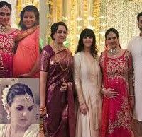 Esha Deol had her baby shower recently and it was a thing that dreams are made of. The diva had a traditional Sindhi godh bharai ceremony for which she turned a bride again to take three pehras with h