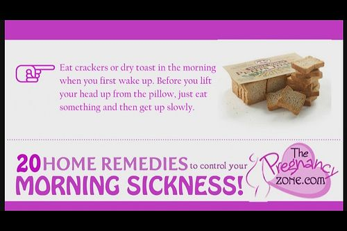 http://pregdiets.com/when-does-morning-sickness-start.html Discover exactly when morning sickness starts. Also the best home remedies, tips and advice for coping with morning sickness. 20 Home Remedies To Control Your Morning Sickness!