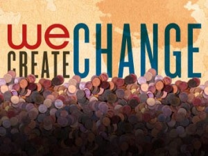 We Day - Take Action - Campaigns - We Create Change! I launched this at two schools and together we got 97, 500 pennies!