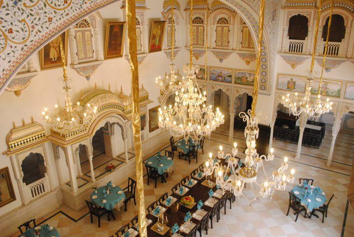 The #fresco paintings, mirror work and decorated windows are the major attraction of #tourist in #Rajasthan.