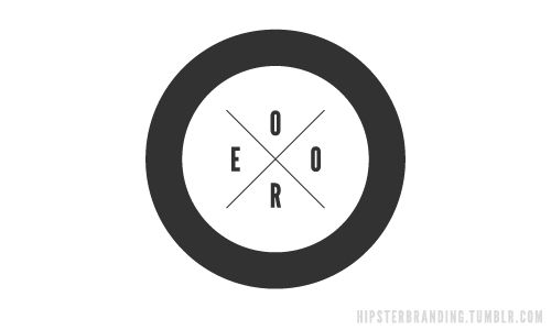 Hipsterized Corporate Logos
